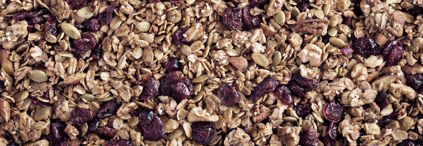 Complete granola & cereal production lines